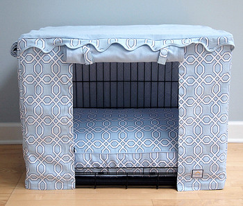 Crate Cover - Moroccan Trellis & Optional Bed