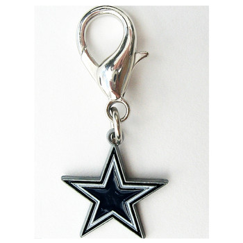 Dallas Cowboys Logo Dog Collar Charm