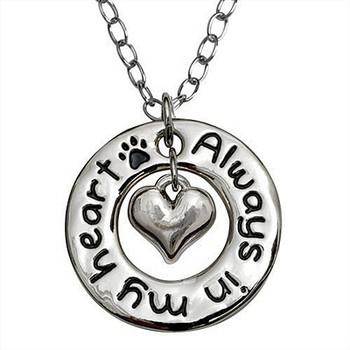 Heart Necklace - Always in My Heart