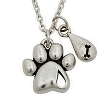 Paw Necklace - Forever Missed