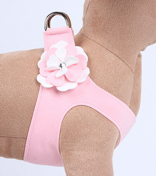 Special Occasion Puppy Pink Step In Harness by Susan Lanci