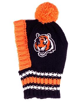 NFL Cincinnati Bengals Knit Dog Ski Hat