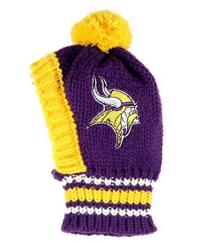 NFL Minnesota Vikings Knit Dog Ski Hat
