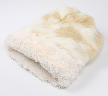 Cuddle Cup - Cream Fox w/ Cream Shag by Susan Lanci Designs