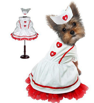 Sweetheart Nurse Pet Dog Costume