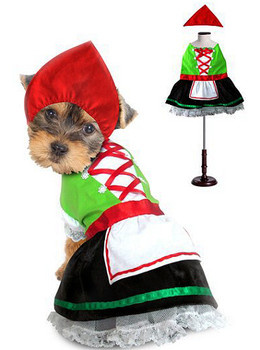 Alpine Girl Pet Dog Costume