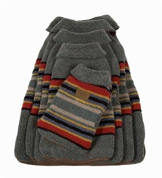 Yakima Camp Heather Green Pendleton Dog Coat - Small - Big Dog Sizes