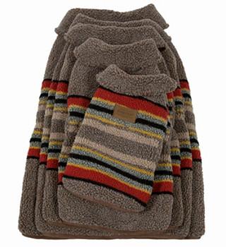 Yakima Camp Umber Pendleton Dog Coat - Small - Big Dog Sizes