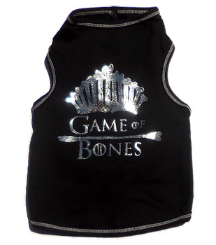Game of Bones Black Dog Tank Top