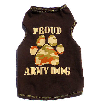 Proud Army Dog - Dog Tank Top