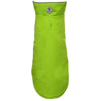 All Weather Apex Nylon Dog Jacket - Apple Green