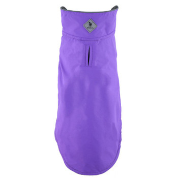 All Weather Apex Nylon Dog Jacket - Purple