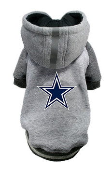 NFL Dallas Cowboys Licensed Dog Hoodie - Small - 3X