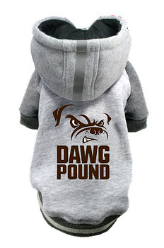 NFL Cleveland Browns Licensed Dog Hoodie - Small - 3X