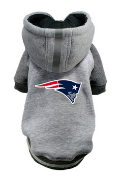 NFL New England Patriots Licensed Dog Hoodie - Small - 3X