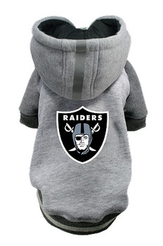 NFL Oakland Raiders Licensed Dog Hoodie - Small - 3X