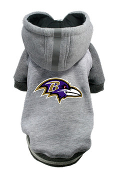 NFL Baltimore Ravens Licensed Dog Hoodie - Small - 3X