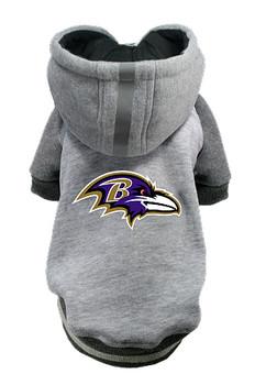 NFL Baltimore Ravens Licensed Dog Hoodie - Small - 3X