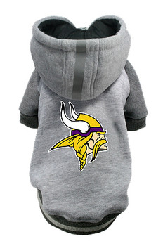 NFL Minnesota Vikings Licensed Dog Hoodie - Small - 3X