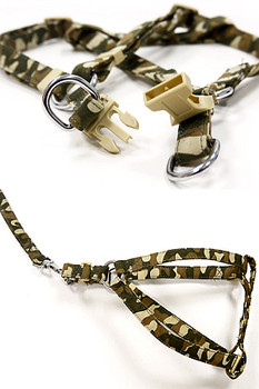 EasyClick Camouflage Pet Dog Harness