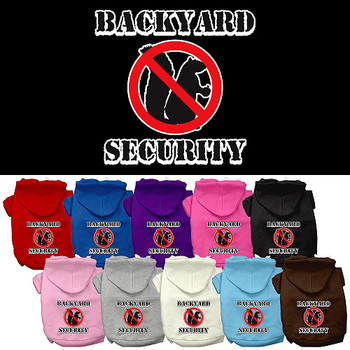 Backyard Security Dog Hoodies