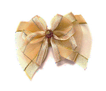 Dog Bows - Celebration Fairy Wings Bow Barrette
