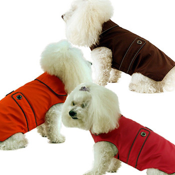 Fleece Lined Dog Coats - Neo-Tech, Big Dogs Too - Black, Red, Pink, Orange, Brown