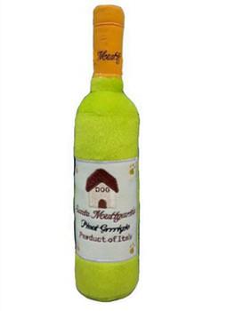 Santa Muttgarita Pinot Grrrigio Plush Dog Toy