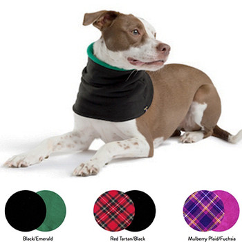 Gold Paw Dog Fleece Snood