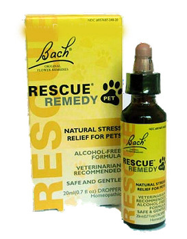 Rescue Remedy and Bach Flower Remedies for Pets
