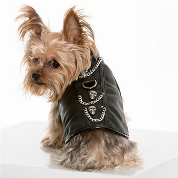 Biker Easy Rider Designer Dog Harness Vest