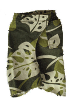 Jungle Hawaiian Dog Jeans Pant