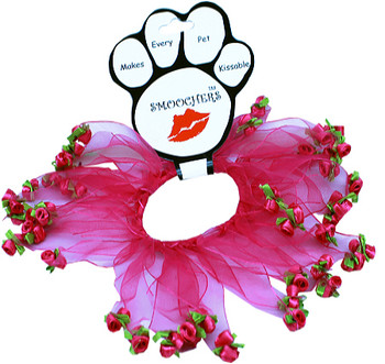 Pink Roses Dog Smoocher