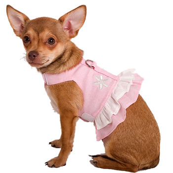 Pink Hemp Dog Harness