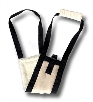 Komfy Fleece Mobility Pet Dog Sling - Small - Large Dogs