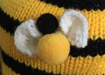 Bee Happy Dog Sweater