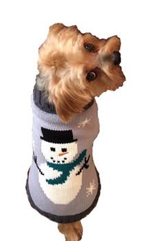 Snowman Dog Sweater