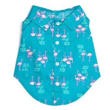 Flamingo Pet Dog Shirt - Small - Big Dog
