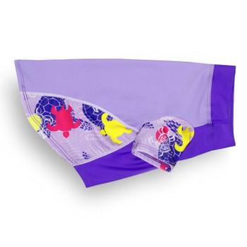 Purple Haze Tuga Sun Protective Lightweight Dog Shirt - Rash gard