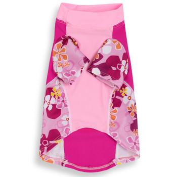 Misty Pink Sun Protective Lightweight Dog Shirt - Rash gard