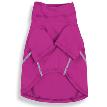 Eco Friendly Dog Rash Gard Sun Shirt - Thai Fuchsia