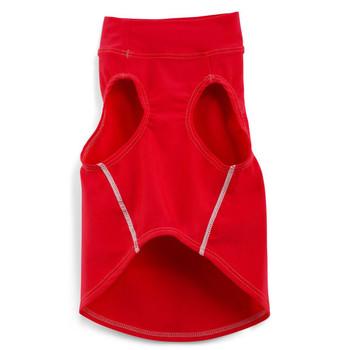 Sun Protective Dog Tank Top - Carminio Red