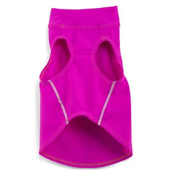 Sun Protective Dog Tank Top - Fuchsia Pink