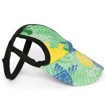 f1583f494b1 Paradise Green Tuga Sun Protective Dog Visor Hats