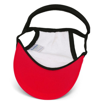 Tribal Shark Red Sun Protective Dog Visor Hats
