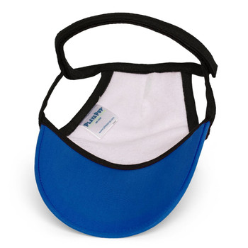Royal Blue Sun Protective Dog Visor Hats