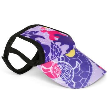 Purple Haze Tuga Sun Protective Dog Visor Hats
