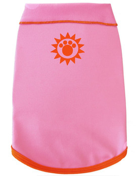 Solar Care & Sunscreen Dog Tank - Pink