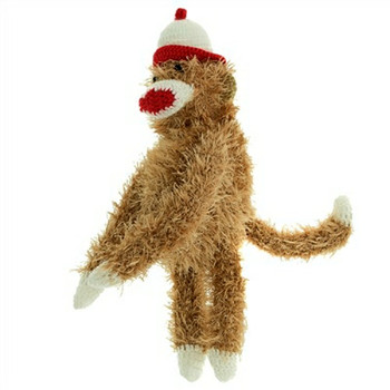Dog Toy - Sock Monkey
