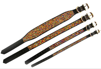 Confetti African Beaded Collar & Leash Collection